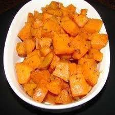 comment cuisiner les patates douces recettes recette patates douces cuites au four toutes les recettes allrecipes