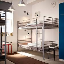 Bunk Bed With Desk Ikea Uk by Basic Bunks With Industrial Chic