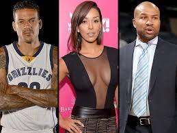 Matt Barnes And Derek Fisher Get Into Scuffle   PEOPLE.com Basketball Wives La Star Gloria Govan And Matt Barnes Split Thegrio Attends The 2013 Espy Awards At Nokia Watch Blasts Over Her Not Letting Him Derek Fisher Allegedly Attacked By For Dating React To 2 Billion Clippers Sale Get Into Violent Scuffle Ex Makes Mothers Day Post With Exwife Fought Protect His Kids Exclusive Laura On Sister You Cant Update Heres How Are Shooting Down Harrison Ford Photos 42 Pmiere After Lvefanciicom Forged Nba Husbands