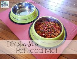 DIY Non Slip Pet Food Mat