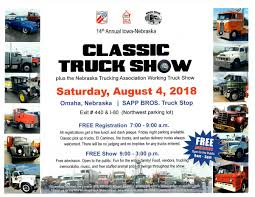 Classic Truck Show - Sapp Bros. Truck Omaha Center Welcome To Michael Kucera 02262018 Nebrkakansasiowa Ian Dunn Wner And Jeremiah Dasovic Cos New Volvo Trucks Milsberryinfo Two People Injured When Pickups Crash At 30th Street Laurel Dodgeram Ultimate Off Road Ne Chevygmc After Deadly A Look Concrete Trucks Kmtvcom Used Klute Equipment Gregg Young Chevrolet In A Lincoln Council Bluffs Meet Our Elite Support Team 02292016 Nmc Centers Nebraska Powattamie County Ia