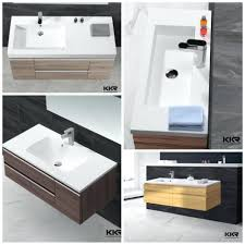 Small Wall Mounted Corner Bathroom Sink by Bathrooms Design Stainless Steel Bathroom Sinks For Long Lasting