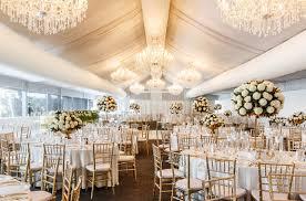 Victoria Park Golf Complex Wedding Styling In Marquee