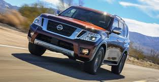Nissan's Patrol Platform Yields A New Armada 2018 Nissan Armada Platinum Reserve Wheel The Fast Lane Truck With Ielligent Rear View Mirror Palmer Vehicles For Sale 2017 Takes On The Toyota Land Cruiser With A Rebelle Yell Turns Rally Car Kelley Tractor And Pull Fair 2011 Nissan Armada Platinum 4wd Suv For Sale 587999 Adventure Drive First Of Pathfinder Titan 2015 Sv 5n1aa0nc1fn603728 Budget Sales 2012 Used 4dr Sl At Conway Imports Serving