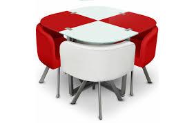 table de cuisine avec chaise encastrable delightful table avec chaise encastrable 14 table en verre et