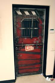 This Is A Faithful Recreation Of The Safehouse Doors In Left 4 Dead Zombie Video