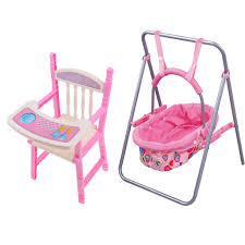 Lifelike Baby Doll ABS Swing Cradle High Chair Model Kids Pretend Toy Role  Playing Nursery Room Dollhouse Decoration Realistic Baby Doll Accessories  ... Little Tikes Pink Doll High Chair Child Size 24 Babykids Fisher Price Loving Family Dream Dollhouse Blue Baby Dolls Twins Highchair Twin Dinner Time Nenuco Annabell Cabbage Patch Kids Get A New You Me High Chair Unboxing Heather Lot Vintage 1940s Wicker Highchair Painted Levatoy Deluxe Chad Valley Baby Doll Car Seat Highchair And Bouncer In Worcester Park Ldon Gumtree Children Nursery For Barby Olivias World Modern Nordic Qvccom Toy Baby Details About Renwal Five Piece Nursery Set Plastic