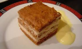 menu du reveillon de nouvel an 2009 le dessert millefeuille