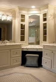 Bathroom Makeup Vanity Height by Best 25 Corner Makeup Vanity Ideas On Pinterest Diy Makeup