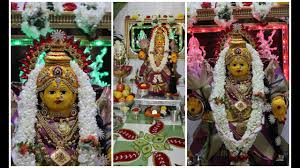 Varalakshmi Vratham Decoration Ideas Usa by Varamahalakshmi Festival Decoration Ideas Images Youtube