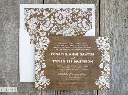 Rustic Wedding Invitation Templates For Decorative Card With Unique Design 17