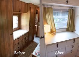 Camper Remodel Vintage Turned Glamper Diy Renovation The Noshery Plans