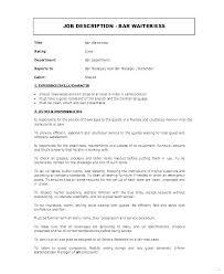 Restaurant Floor Manager Job Description Sample Or Head Waiter Resume Waitress