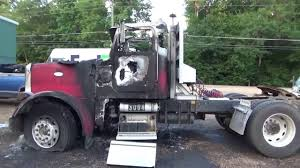 100 Peterbilt Trucks Pictures One Of Our Trucks Burned YouTube