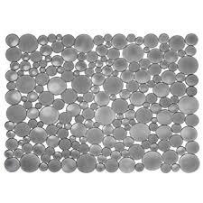 tapis d evier de cuisine interdesign 09253eu bubbli tapis d évier grand modèle graphite