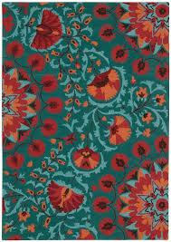 ebern designs doretta teal area rug reviews wayfair