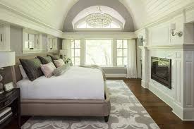 Inspiration For A Transitional Bedroom Remodel In Minneapolis With Gray Walls