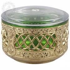 Airtight Box Round Gold