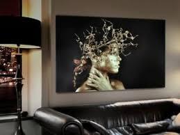 dekoration wandbild glas dekoration bunt abstrakt modern