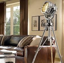 Pottery Barn Floor Lamps Ebay by Impressive Photographers Tripod Floor Lamp Zabliving Within