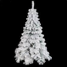 6 Ft Flocked Christmas Tree Uk by Luxury 1 8m 6ft Flocking Christmas Tree