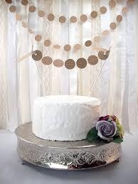 Rustic Dots Cake Topper Wedding Dessert Table DecorWedding