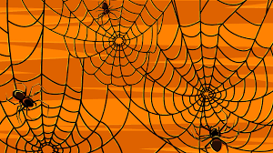 Free Halloween Ecards Interactive by Scary Halloween Hd Wallpapers Pumpkins Witches Spider Web 1366