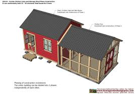 Tuff Shed Plans Download by Cb210 Combo Plans Chicken Coop Plans Construction Garden Sheds
