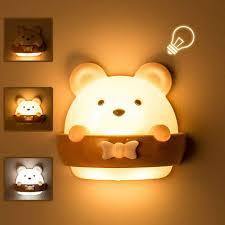 led nachtlicht kinder nachtlicht nachttischle baby tragbare usb aufladen nachtle gelbes licht für das lesen schlafen und entspannen