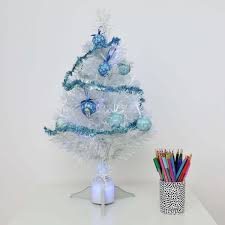 Fibre Optic Christmas Trees Uk by 4ft Artificial Fibre Optic Table Top Christmas Tree With Star