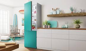 bosch vario style kühlschränke mit farbigen fronten