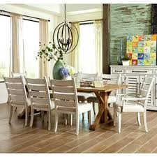 Trisha Yearwood Home Collection By Klaussner Coming 9 Pc Dining Set