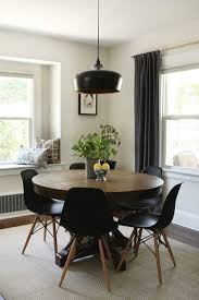 Modern Round Dining Table Extendable