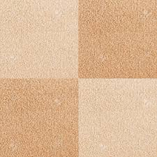 New Checkered Carpet Texture Bright Beige Flooring As Seamless Background Stock Photo