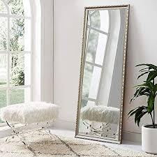 neutype ganzkörperspiegel zum aufhängen oder anlehnen groß rechteckig für schlafzimmer wandspiegel wandspiegel massives holz 165 7 x 55 9 cm