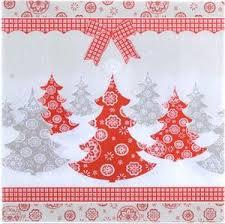 serviette de noel en papier serviette en papier motifs arbres de noel vendue à l unité