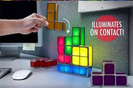 Tetris Stackable Led Desk Light by Diy Tetris Stackable Led Desk Lamp Owlake Because You Are