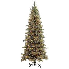 Fiber Optic Christmas Trees Target by Upc 804606490766 7 5 Ft Pre Lit Snowy Silverton Pine Artificial