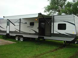 2 Bedroom Motorhome Travel Trailer With Two Bedrooms Wildwood Dlx 4002q 37bhss2q Columbus Comp 377mb Luxury