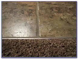 transition carpet to tile concrete floor tiles home design
