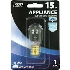 feit electric 15 watt incandescent t7 appliance light bulb