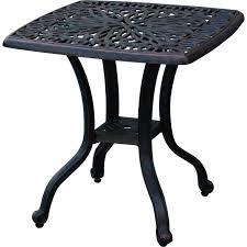 Darlee Patio Furniture Quality by Amazon Com Darlee Elisabeth Cast Aluminum Outdoor Patio End