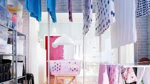 pour etendre le linge solutions pour étendre le linge dans un petit appartement