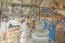 Coit Tower Murals Controversy by 10 Labour Rights Murals Widewalls