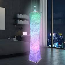 kktect led stehleuchte farbwechselnde romantische atmosphäre leuchten mit fernbedienung multifunktionale rgb dekorleuchten 150 cm moderne stehle