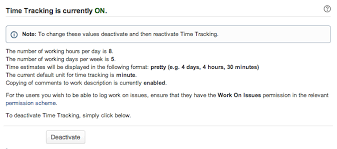 Configuring Time Tracking Settings