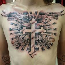 90 Cross Tattoos For The Religious And Not So