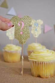 Gender Reveal Cupcake Toppers Ideas