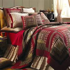Rustic Comforter Bedding Sets Quilts Vhc Brands Tacoma Quilted Bed Covers