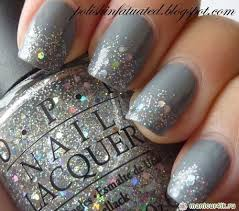 Grey manicure ideas for nail design photo